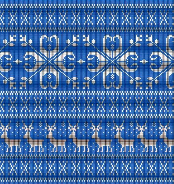 Узор Олени спица: идеальное решение для модного свитера uzor olen 9
