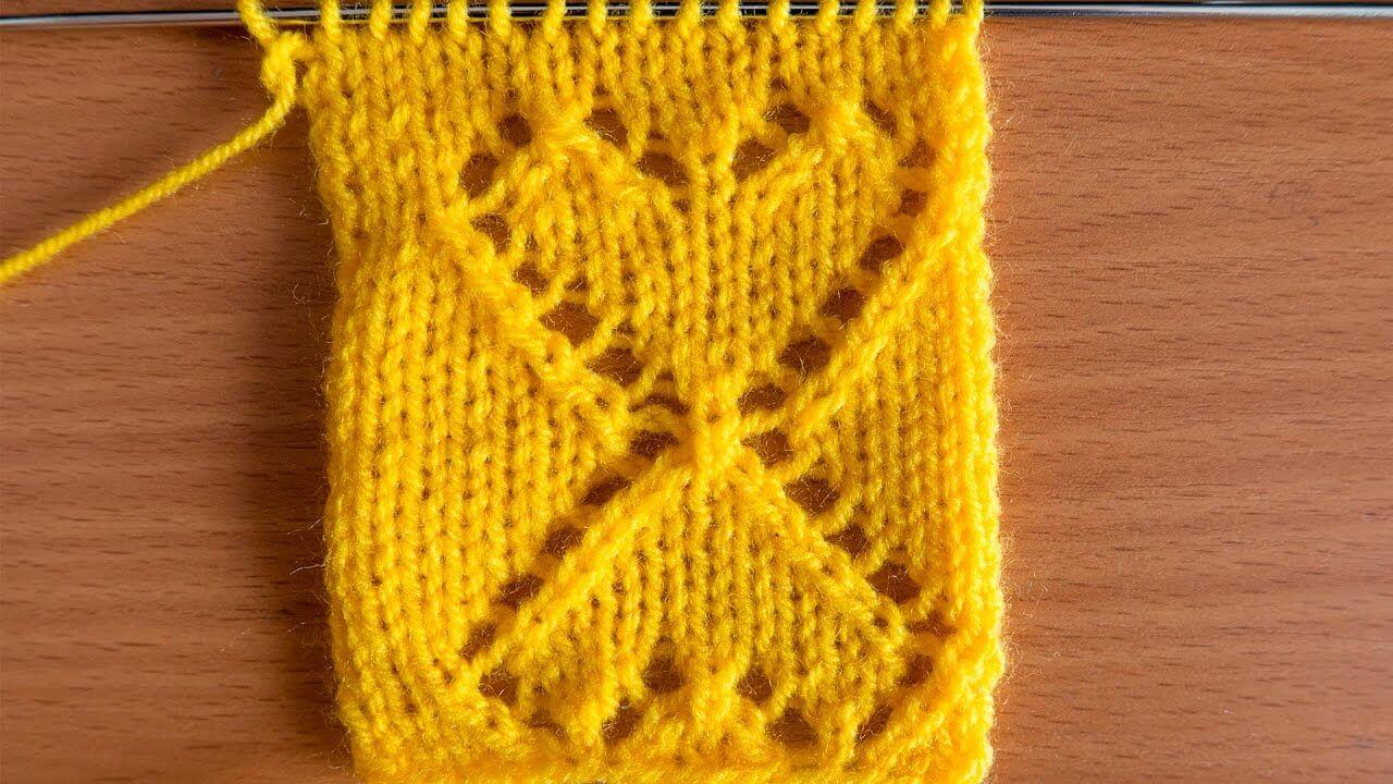 Узор сердечки спицами: различные варианты вязания uzor serdze15