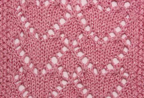 Узор сердечки спицами: различные варианты вязания uzor serdze18