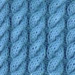 Узор Восьмерка спицами: варианты вязания