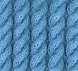 Узор Восьмерка спицами: варианты вязания uzor vosmerka spicami 1