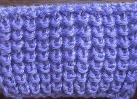 Узор Ежики спицами: секреты вязания uzor ezhiki 3