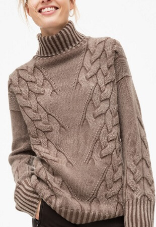 Косы и жгуты спицами: отличное сочетание для вязания viazanie kos spicami 11