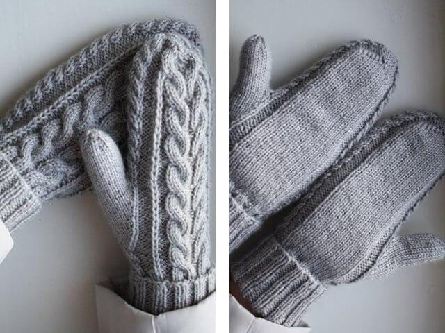 Косы и жгуты спицами: отличное сочетание для вязания viazanie kos spicami 13