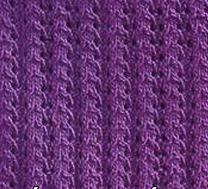 Вертикальные узоры спицами: варианты со схемами vertikalnye uzory spicami 12