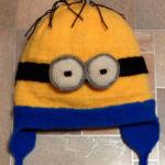 Веселая шапочка Миньон для вашего ребенка