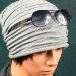 Модная и стильная шапка узором Клоке спицами
