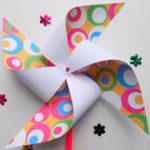 Вертушка из бумаги для детей: варианты детской поделки