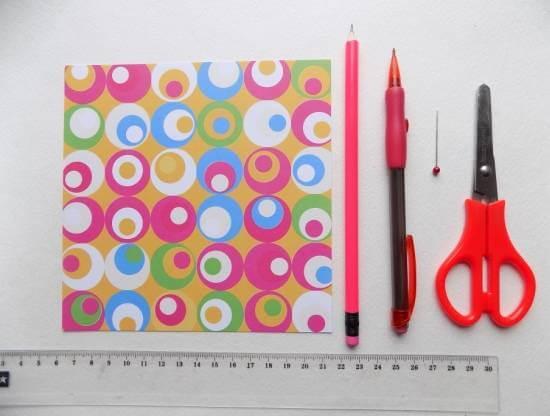 Вертушка из бумаги для детей: варианты детской поделки 1 1