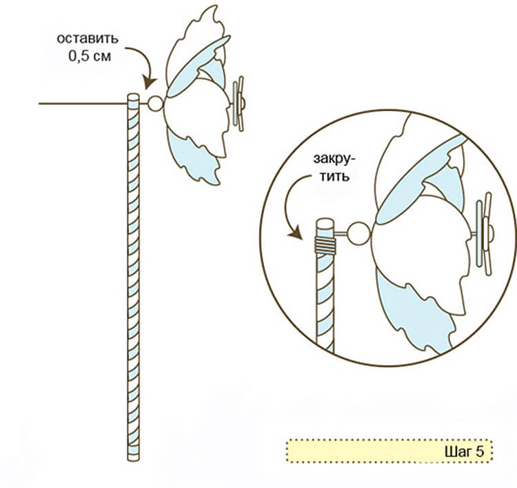 Вертушка из бумаги для детей: варианты детской поделки 1 21