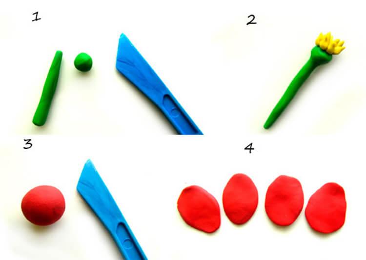 Как сделать тюльпаны своими руками: мастер классы в различных техниках Tyulpan iz bumagi 84