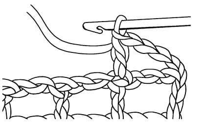 Филейные узоры крючком: техника вязания filejnye uzory kryuchkom skhemy 11