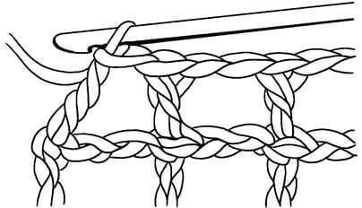 Филейные узоры крючком: техника вязания filejnye uzory kryuchkom skhemy 12