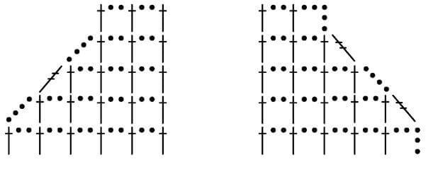 Филейные узоры крючком: техника вязания filejnye uzory kryuchkom skhemy 13