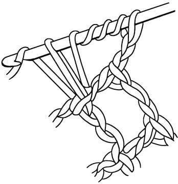 Филейные узоры крючком: техника вязания filejnye uzory kryuchkom skhemy 5