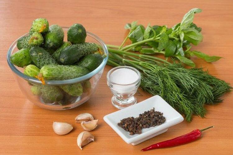 Малосольные огурцы в пакете: вкусные и простые рецепты malosolnye ogurcy 7