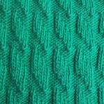 Узор Ромбы спицами: схемы вязаний