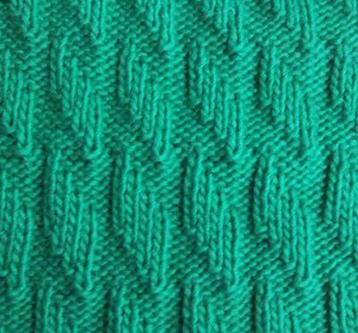 Узор Ромбы спицами: схемы вязаний romby shemy opisanie 1