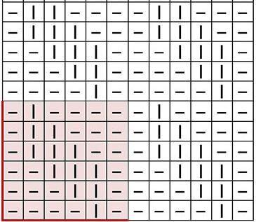 Узор Ромбы спицами: схемы вязаний romby shemy opisanie 2