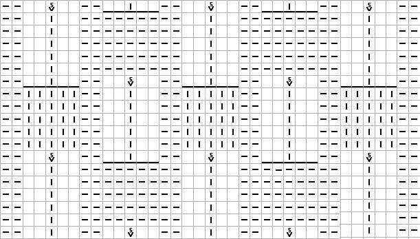 Узор Ягодки спицами: схема и описание объемного узора ugor yagodki spicami 3