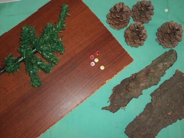 2-1 Поделка из природного материала в садик: 100 идей с пошаговым фото