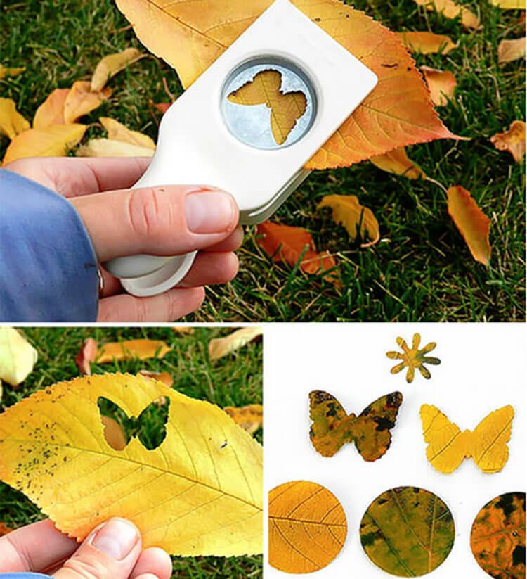 Что можно сделать из сухих осенних листьев: варианты с фото 6