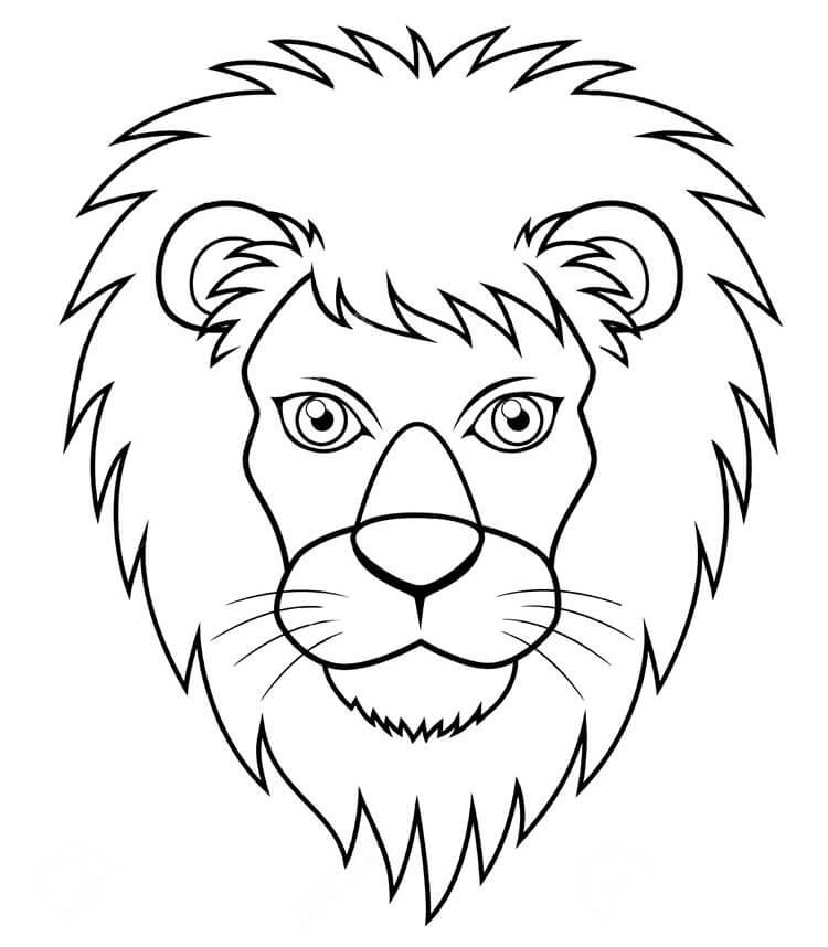 Лев из осенних листьев: варианты аппликации для детского сада lev 12