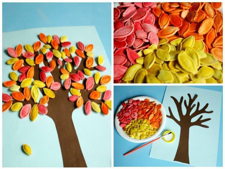 Интересные идеи на тему Осень в детский сад и школу osen idei dlya podelok 12
