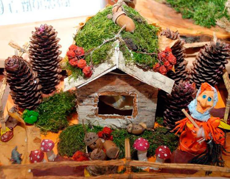 Интересные идеи на тему Осень в детский сад и школу osen idei dlya podelok 16