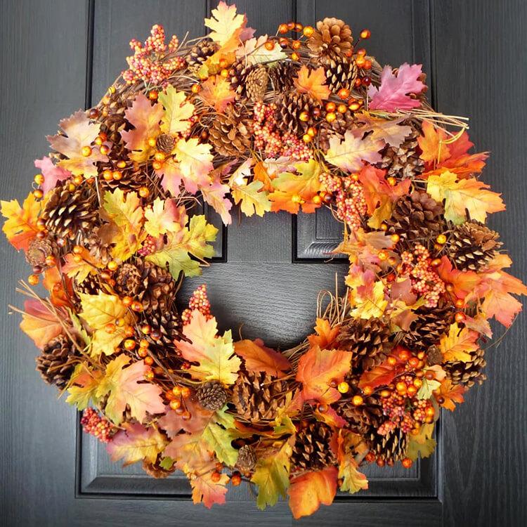 Красивые поделки из шишек на тему Осень для сада и школы podelki iz shishek svoimi rukami 68