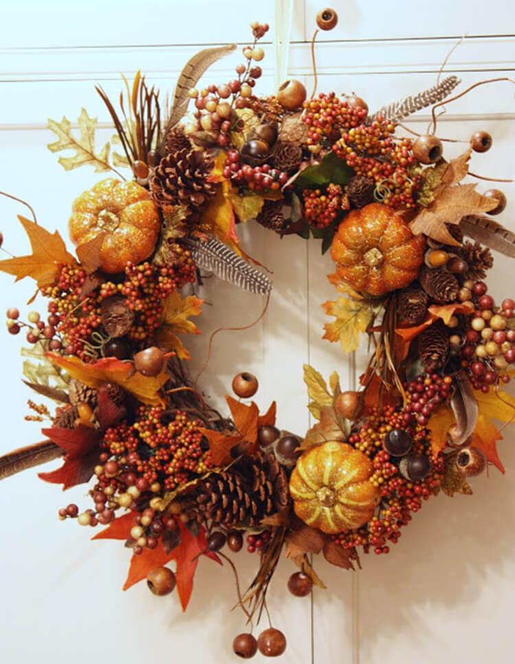 Красивые поделки из шишек на тему Осень для сада и школы podelki iz shishek svoimi rukami 69