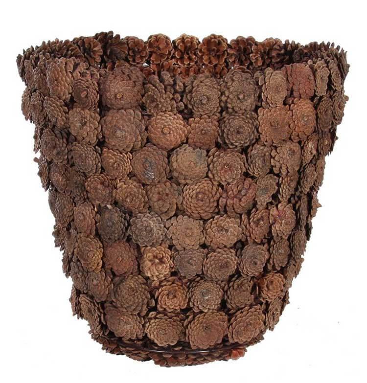 Красивые поделки из сосновых шишек для дома и садика podelki iz sosnovyh shishek 26