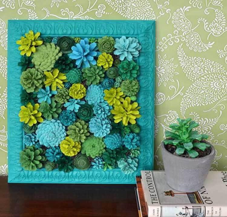 Красивые поделки из сосновых шишек для дома и садика podelki iz sosnovyh shishek 28