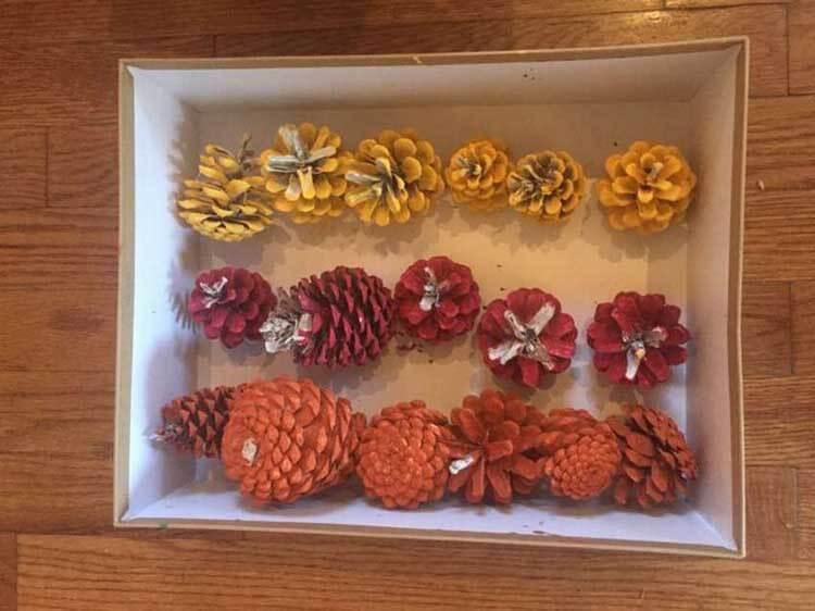 Красивые поделки из сосновых шишек для дома и садика podelki iz sosnovyh shishek 7
