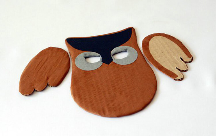 Сова из бумаги: различные варианты поделки sova iz bumagi 11