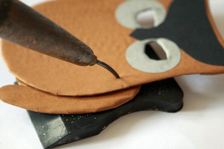 Сова из бумаги: различные варианты поделки sova iz bumagi 14