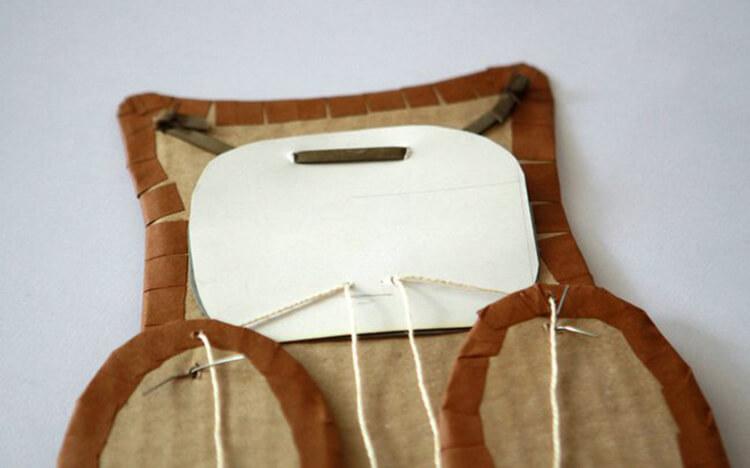 Сова из бумаги: различные варианты поделки sova iz bumagi 17