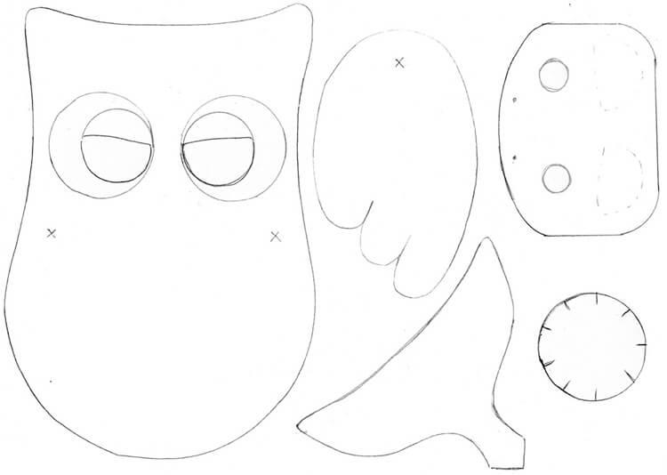 Сова из бумаги: различные варианты поделки sova iz bumagi 20