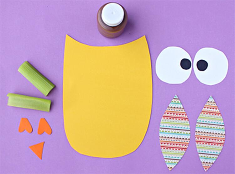 Сова из бумаги: различные варианты поделки sova iz bumagi 3
