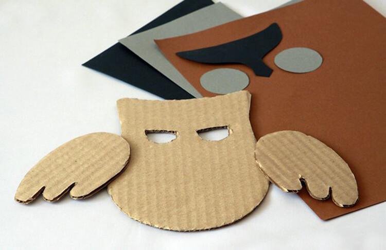 Сова из бумаги: различные варианты поделки sova iz bumagi 7