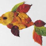 Аппликации из листьев на тему Осень: интересные поделки с фото