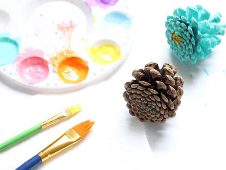 Букет из шишек: как сделать красивую и оригинальную поделку buket iz shishek 16 1