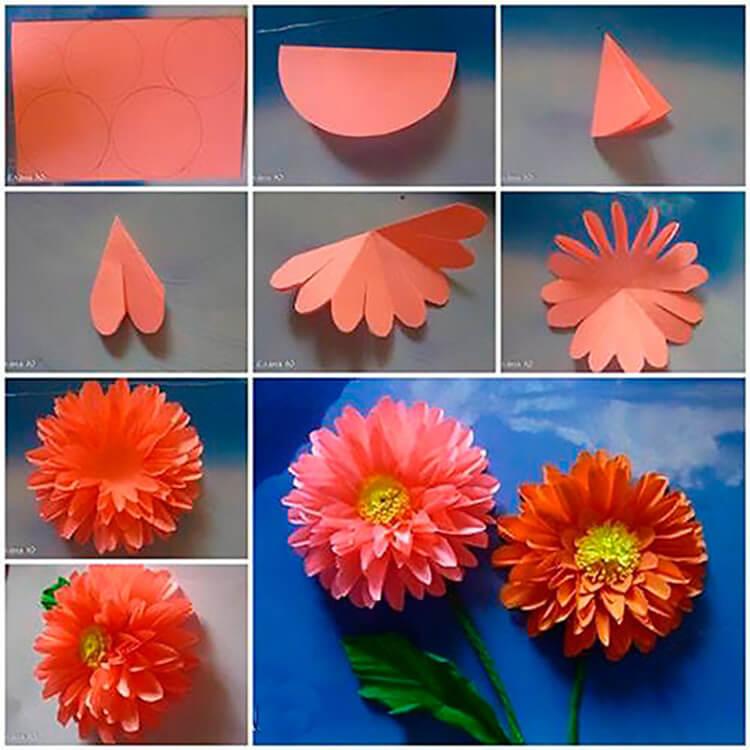 Открытки оригами на тему осень