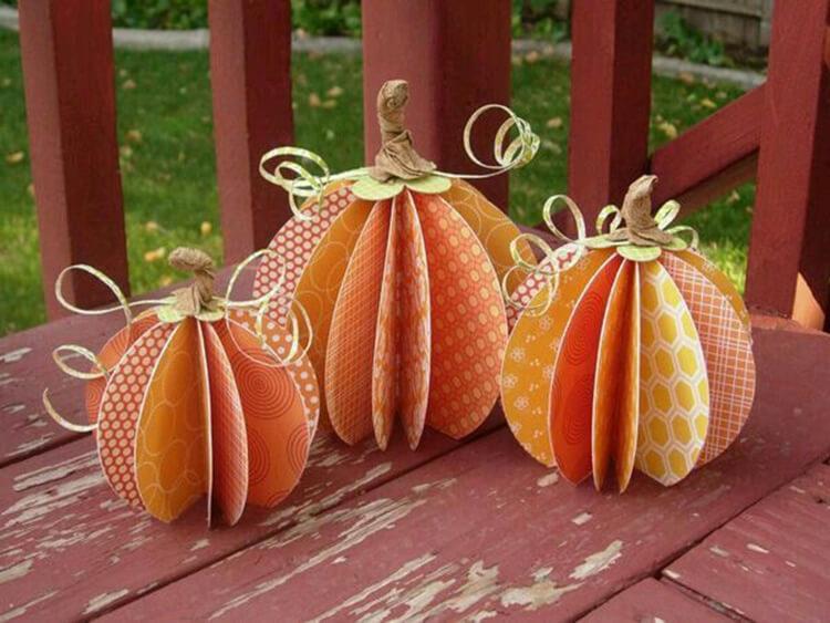 Что можно сделать из бумаги на тему Осень: мастер классы с фото osennie cvety iz bumagi 23