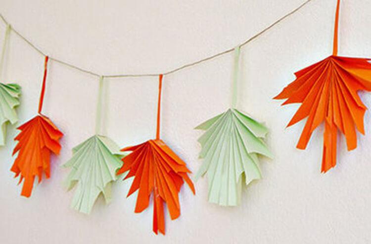 Что можно сделать из бумаги на тему Осень: мастер классы с фото osennie cvety iz bumagi 28