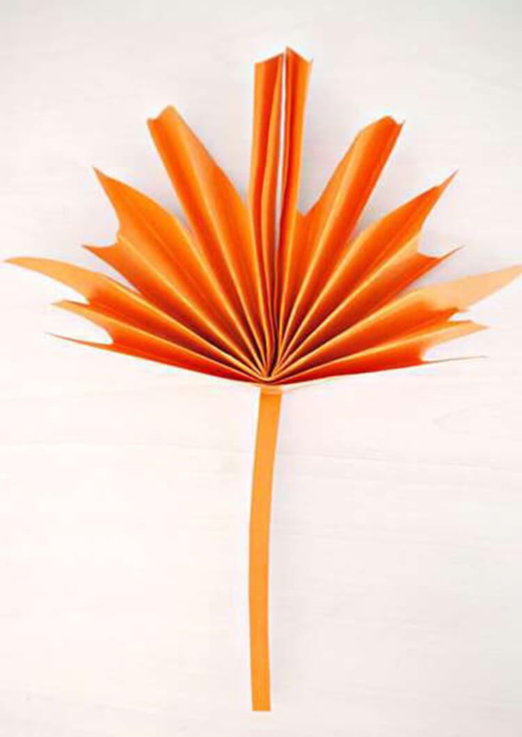 Что можно сделать из бумаги на тему Осень: мастер классы с фото osennie cvety iz bumagi 29