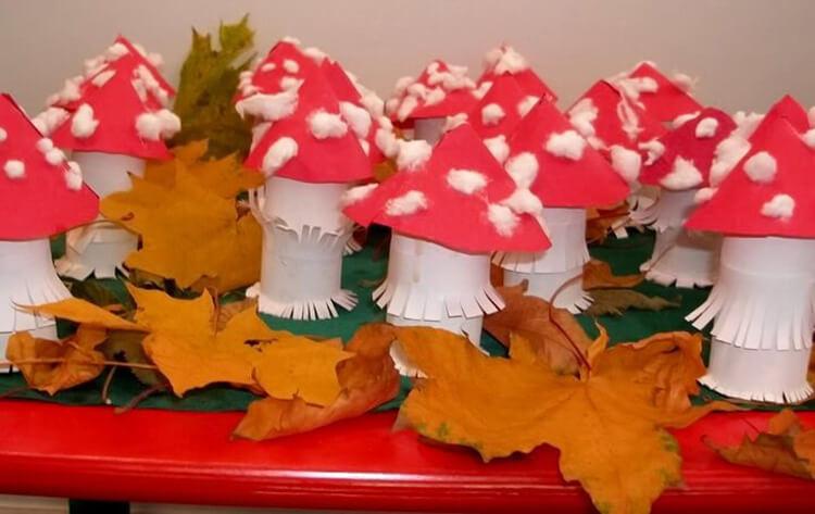 Что можно сделать из бумаги на тему Осень: мастер классы с фото osennie cvety iz bumagi 38