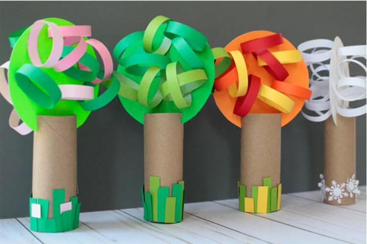 Что можно сделать из бумаги на тему Осень: мастер классы с фото osennie cvety iz bumagi 39