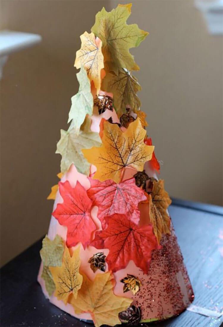 Что можно сделать из бумаги на тему Осень: мастер классы с фото osennie cvety iz bumagi 42