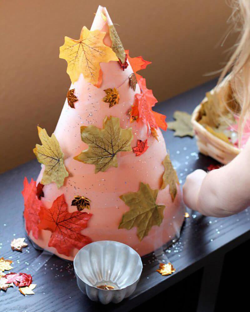 Что можно сделать из бумаги на тему Осень: мастер классы с фото osennie cvety iz bumagi 45